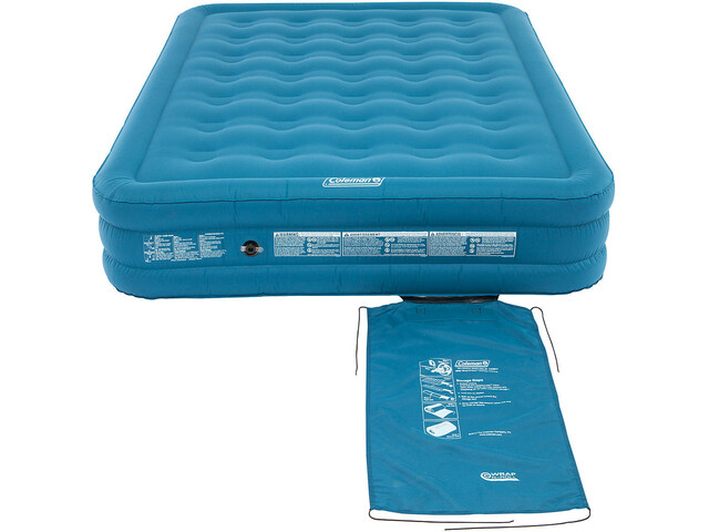 Coleman Extra Durable Materac dmuchany Raised Double, blue